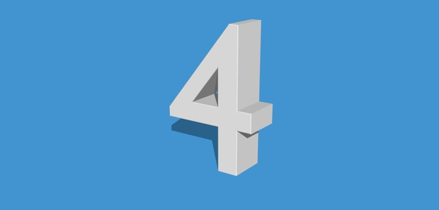 Numerologie 4: Nummer Betekenis en Symbolen