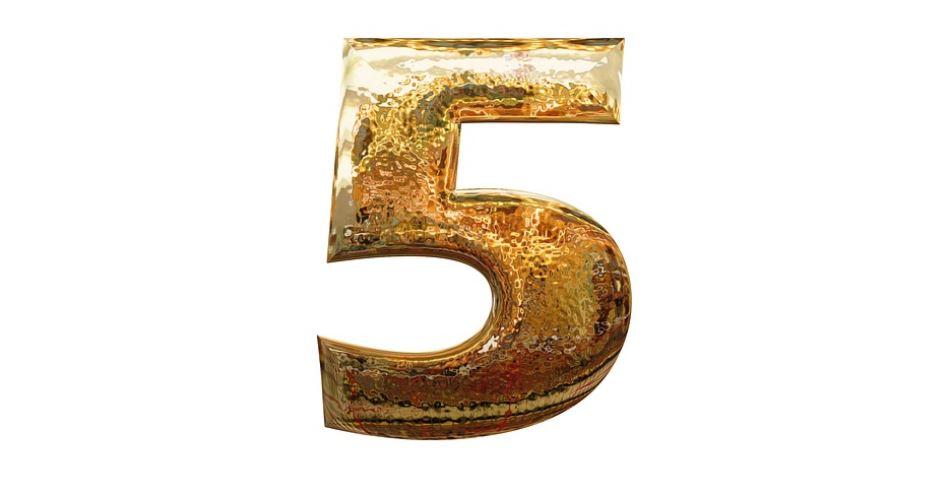 Numerologie 5: Nummer Betekenis en Symbolen