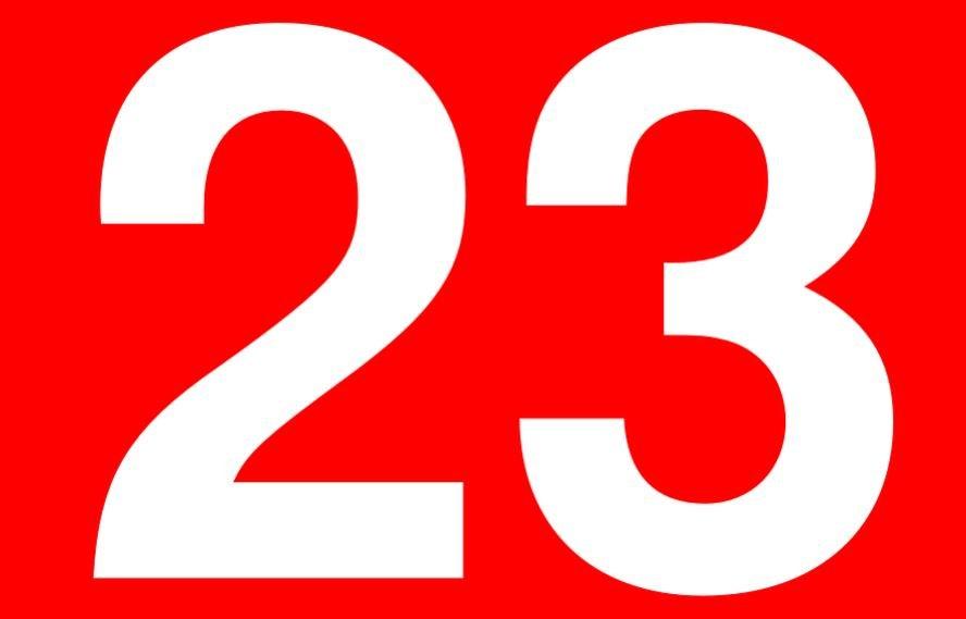 Numerologie 23