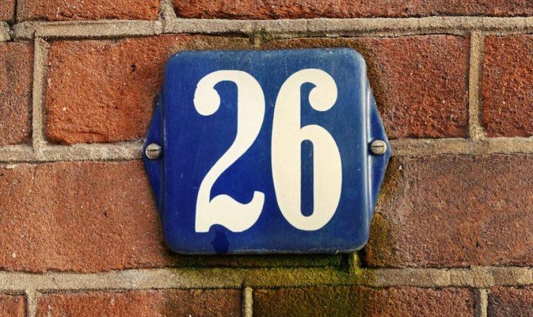 Numerologie 26: Nummer Betekenis en Symbolen
