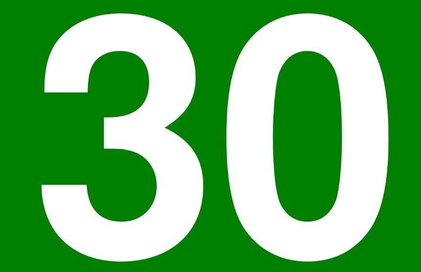 Numerologie 30: Nummer Betekenis en Symbolen