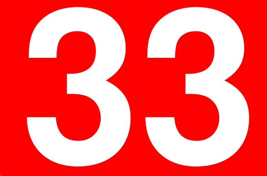 Numerologie 33