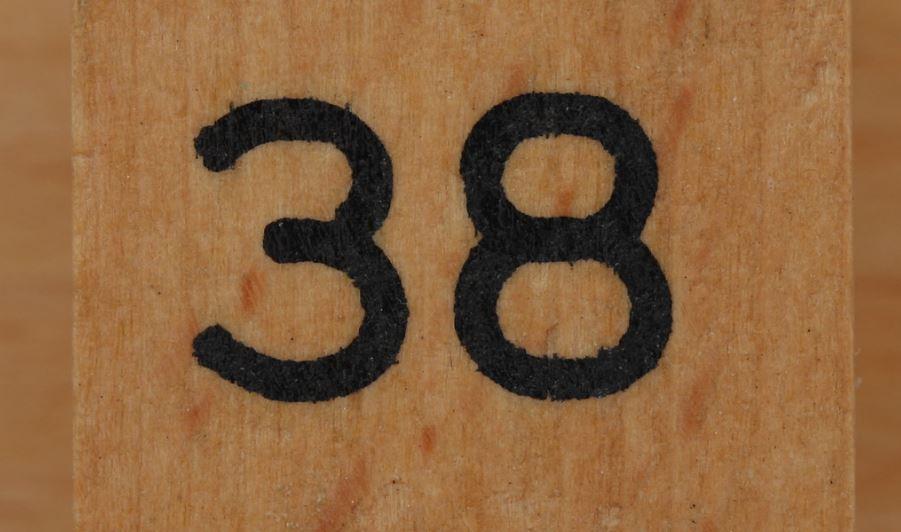 Numerologie 38