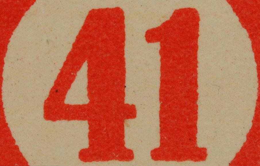 Numerologie 41