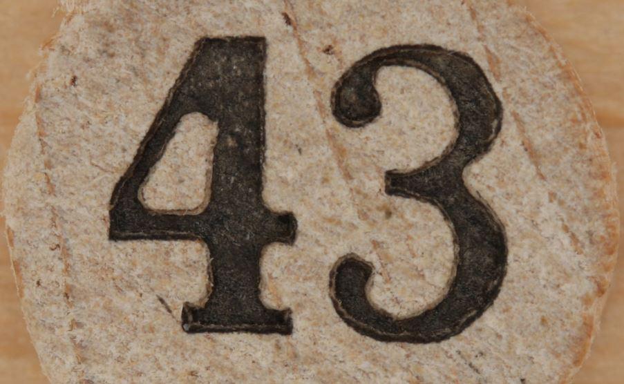 Numerologie 43