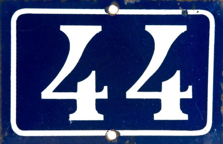 Numerologie 44