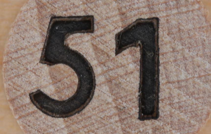 Numerologie 51