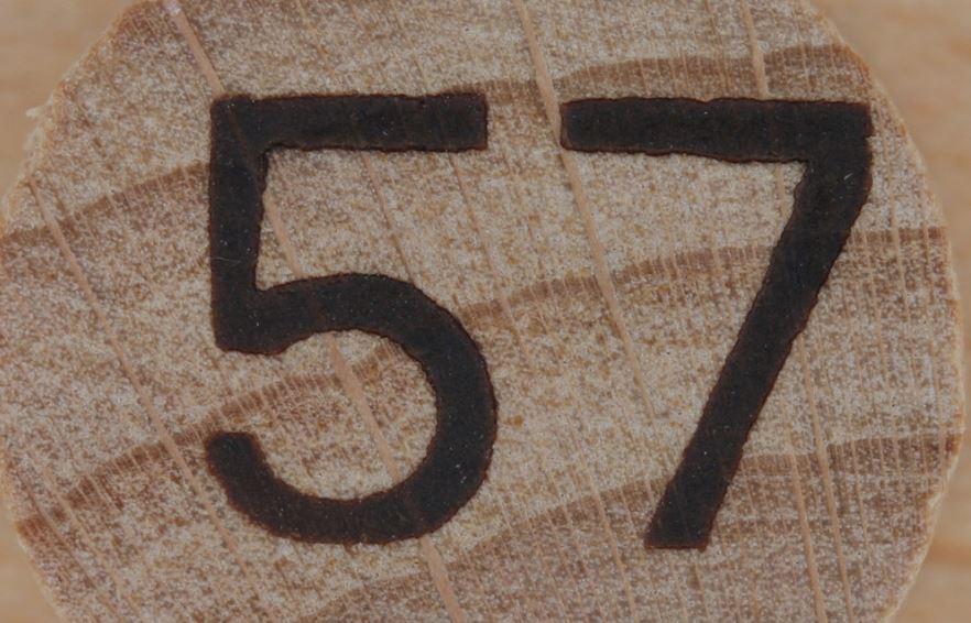 Numerologie 57