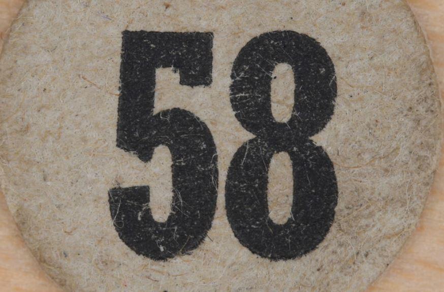 Numerologie 58
