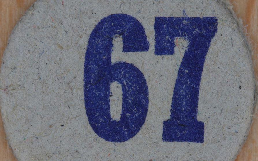 Numerologie 67