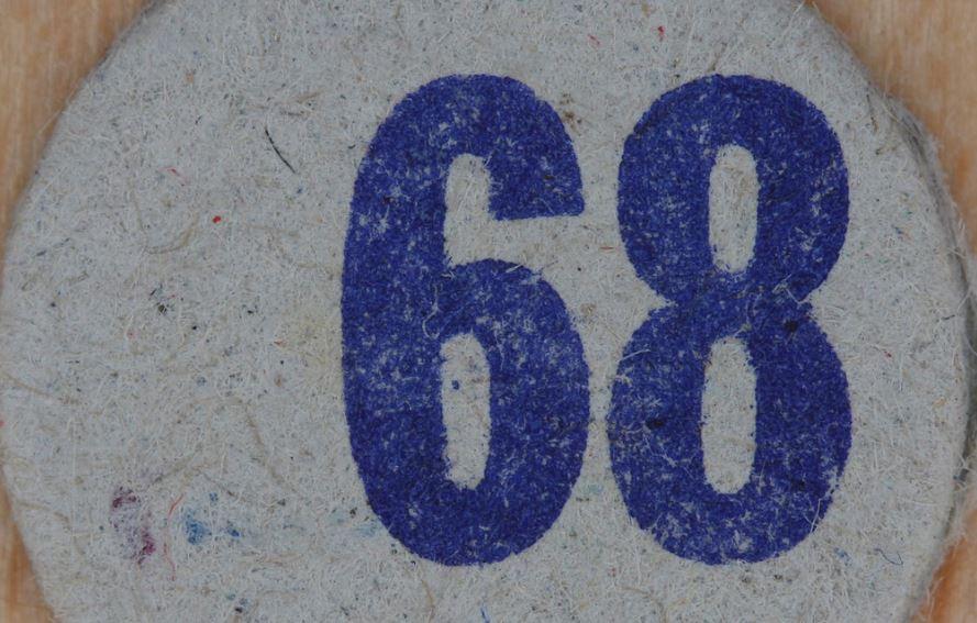 Numerologie 68