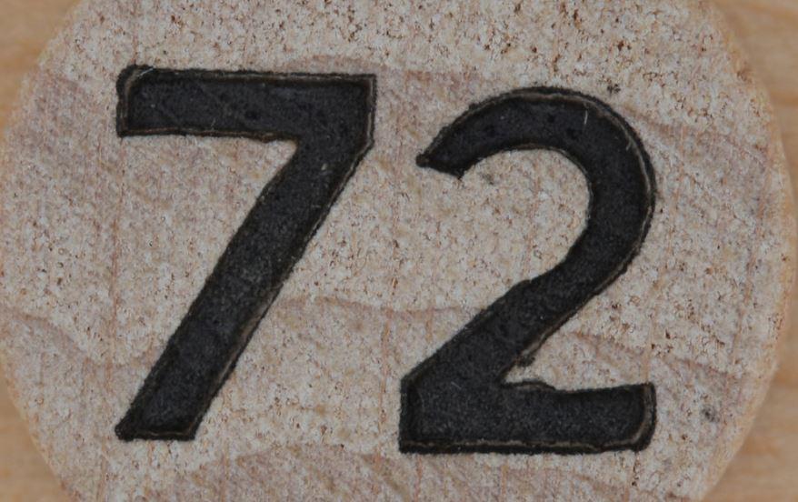 Numerologie 72