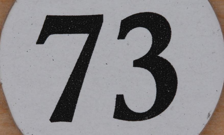 Numerologie 73
