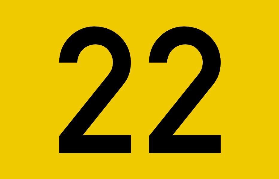 Numerologie 22