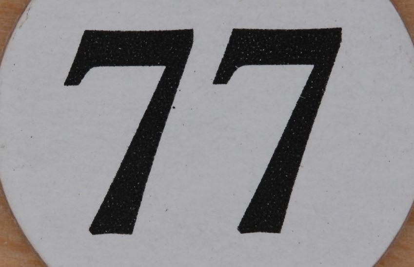 Numerologie 77