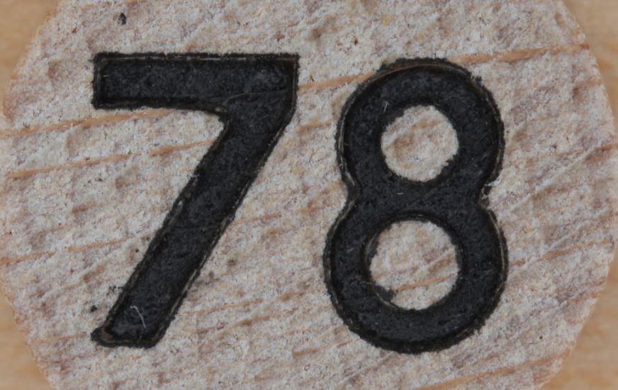 Numerologie 78