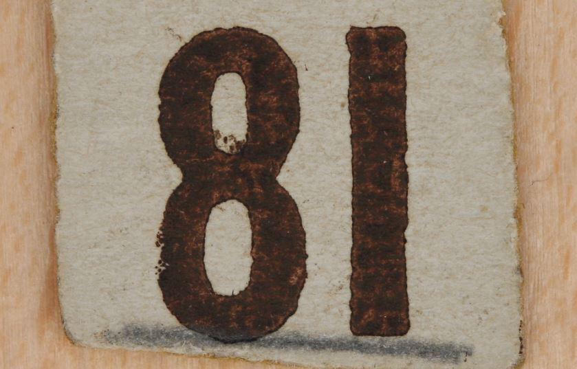 Numerologie 81