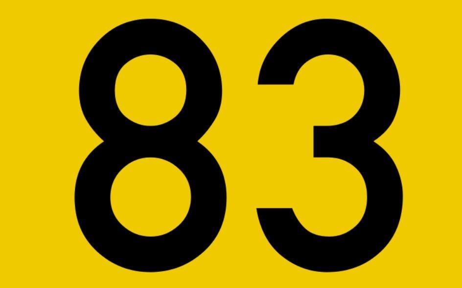 Numerologie 83