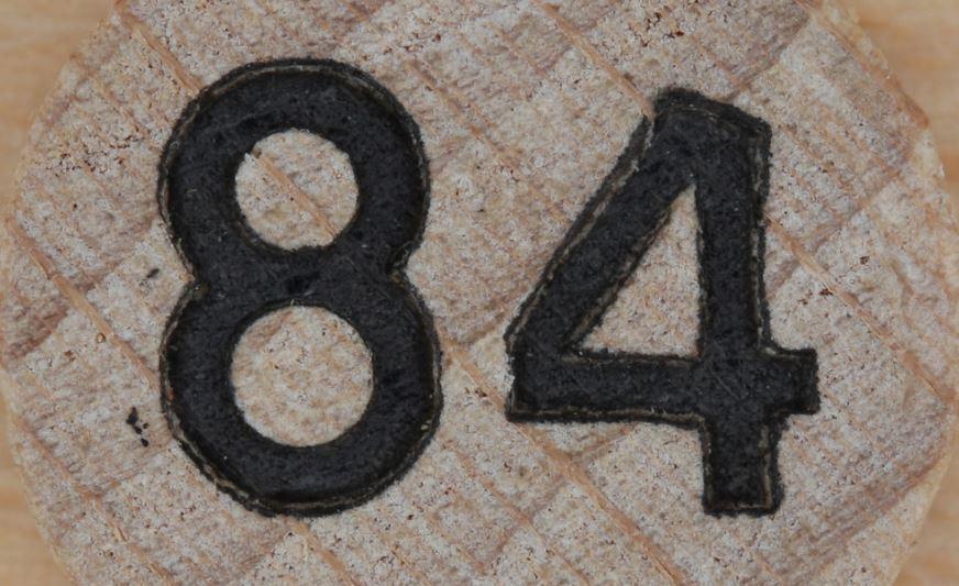 Numerologie 84