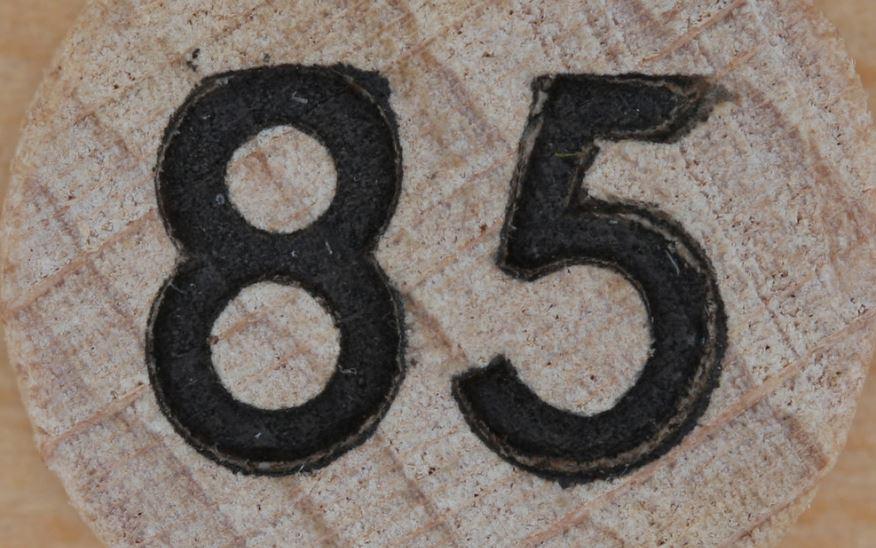Numerologie 85