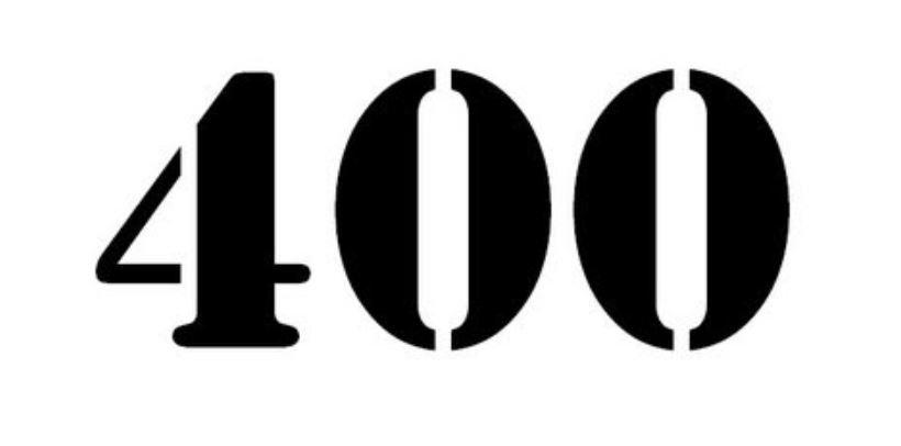 Numerologie 400