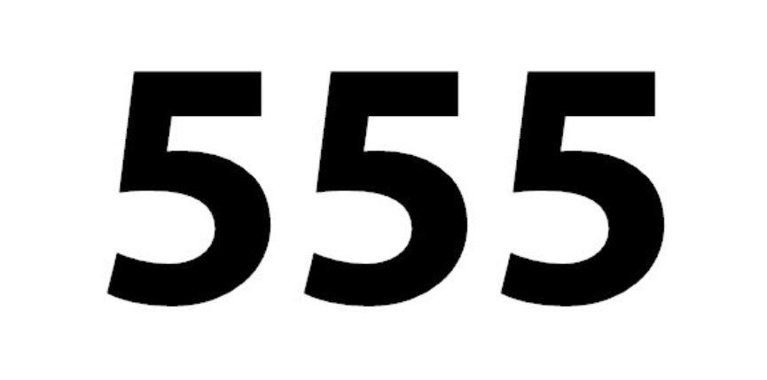 Numerologie 555