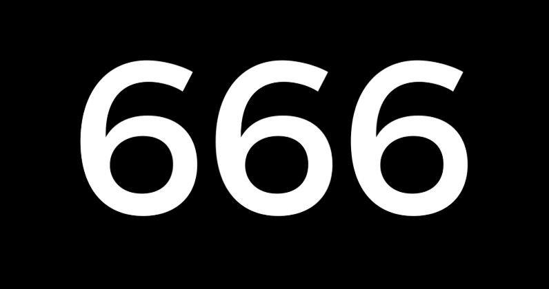 Numerologie 666
