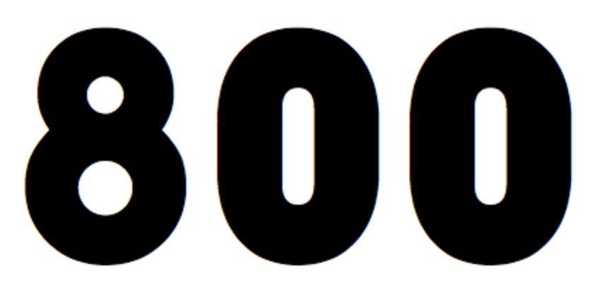 Numerologie 800