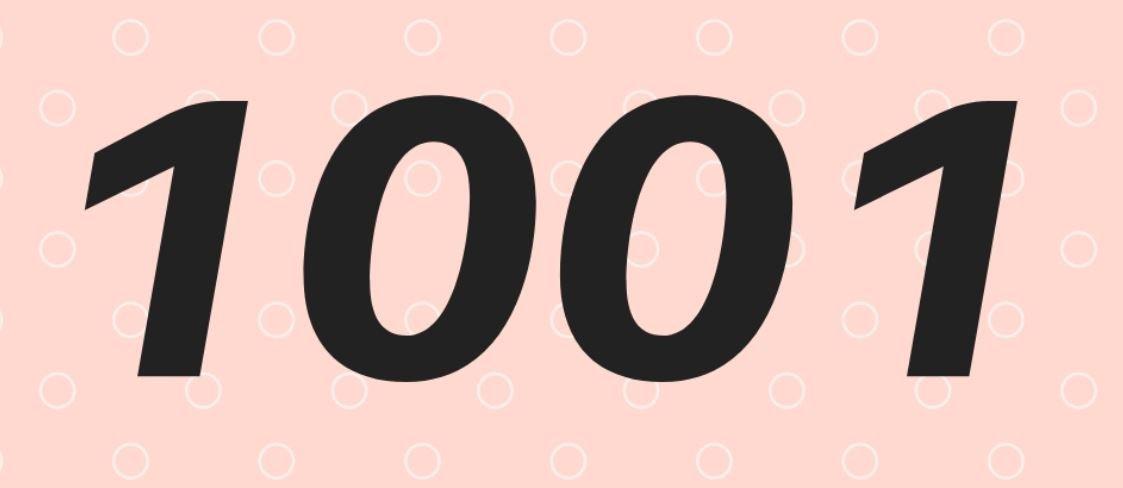 Numerologie 1001