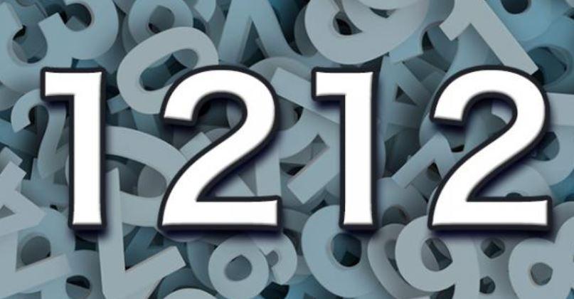 Numerologie 1212