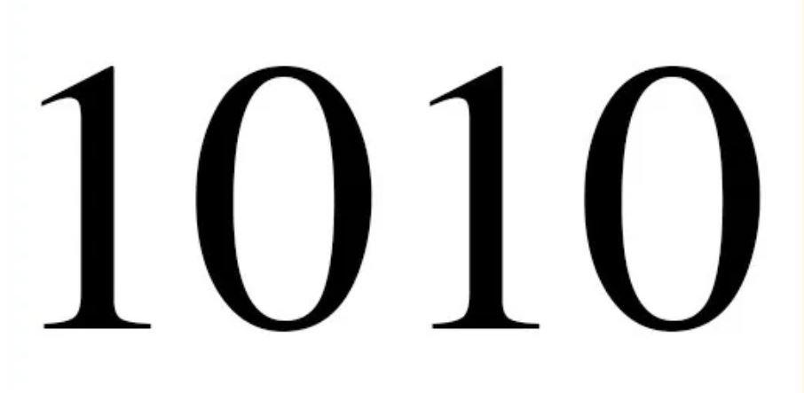Numerologie 1010