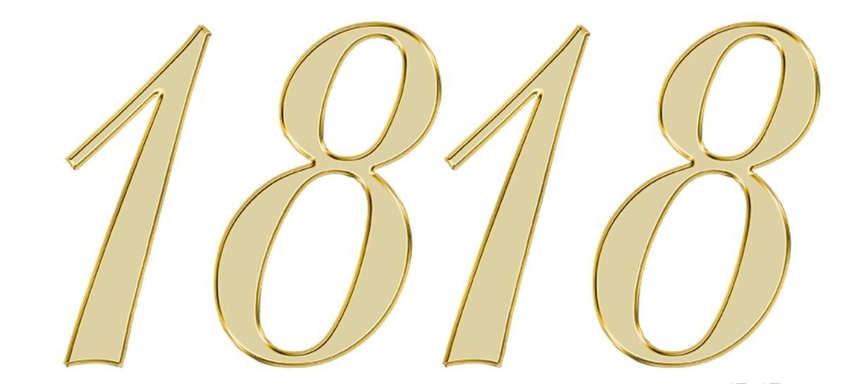 Numerologie 1818