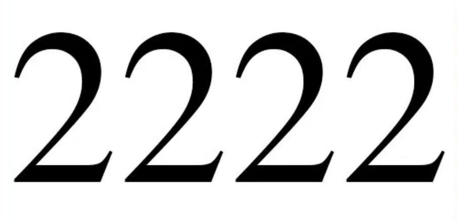 Numerologie 2222: Nummer Betekenis en Symbolen