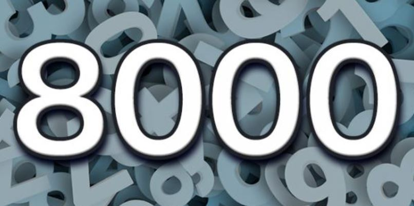 Numerologie 8000