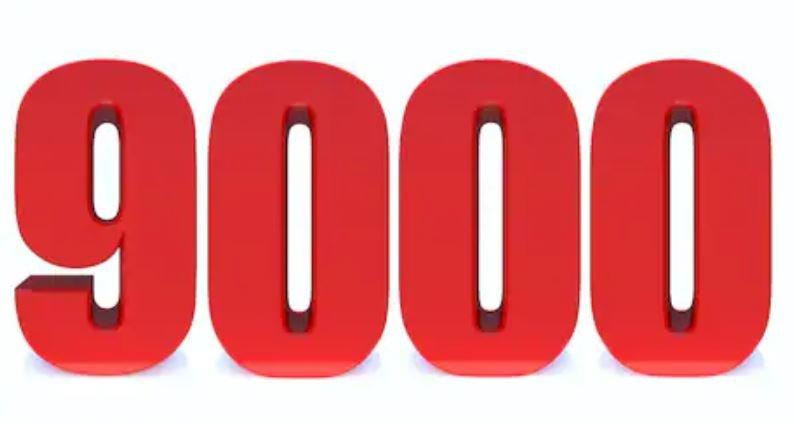 Numerologie 9000
