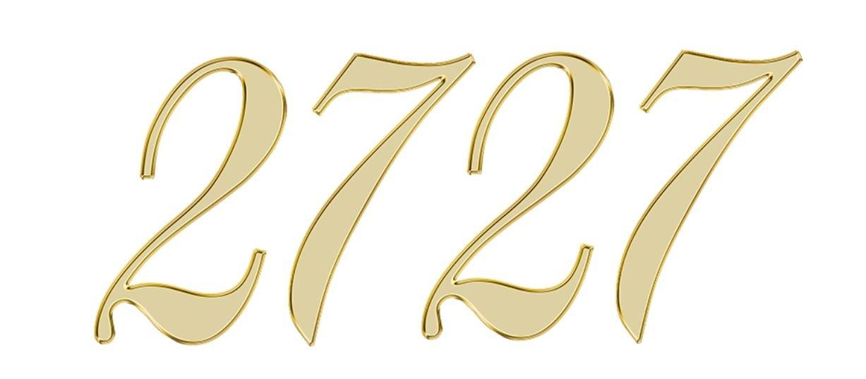 Numerologie 2727