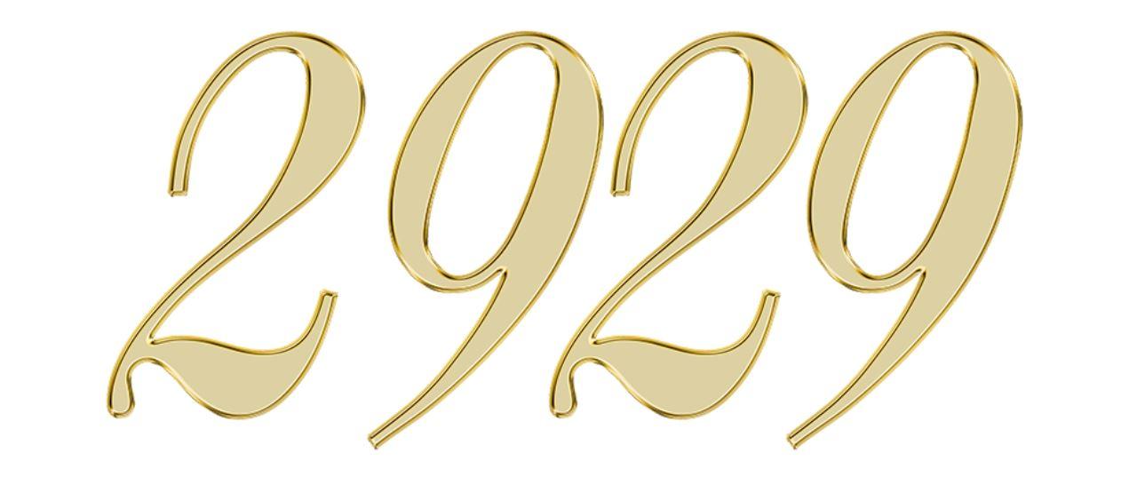 Numerologie 2929