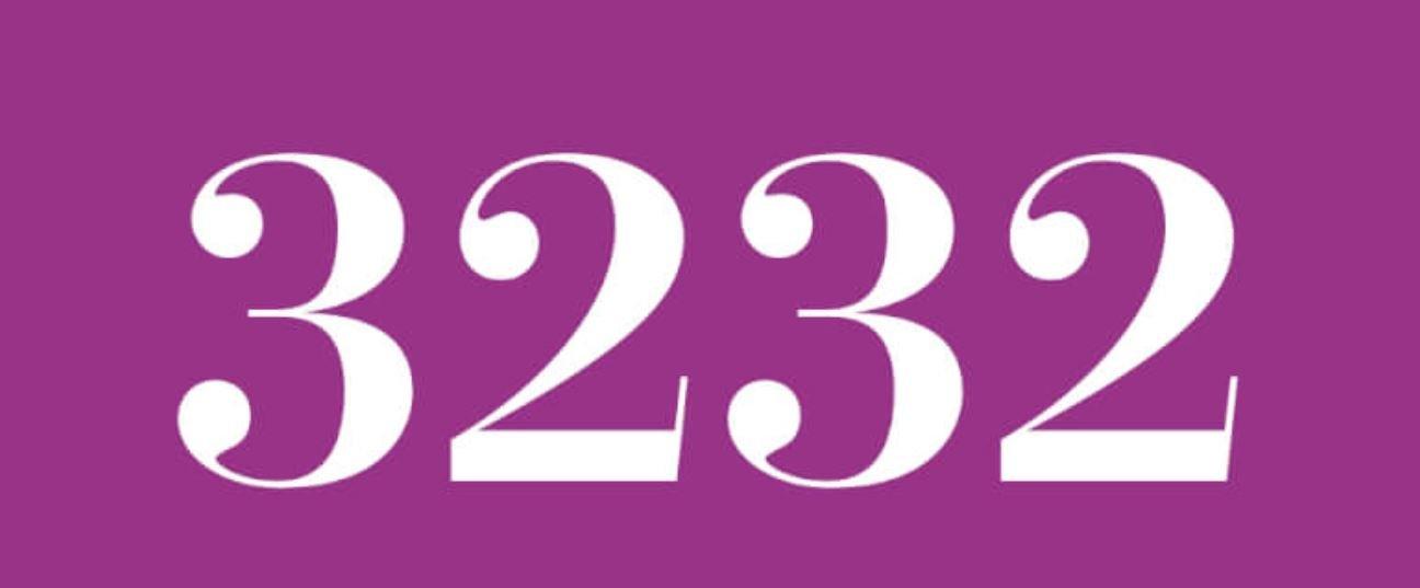 Numerologie 3232