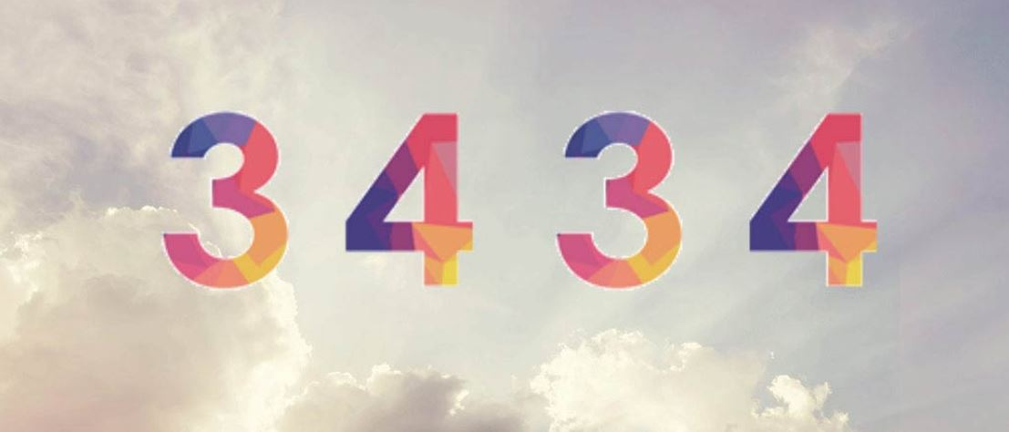Numerologie 3434