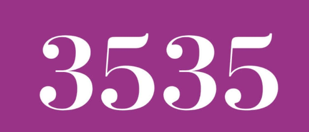 Numerologie 3535
