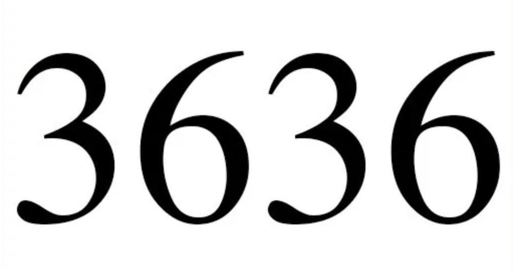 Numerologie 3636
