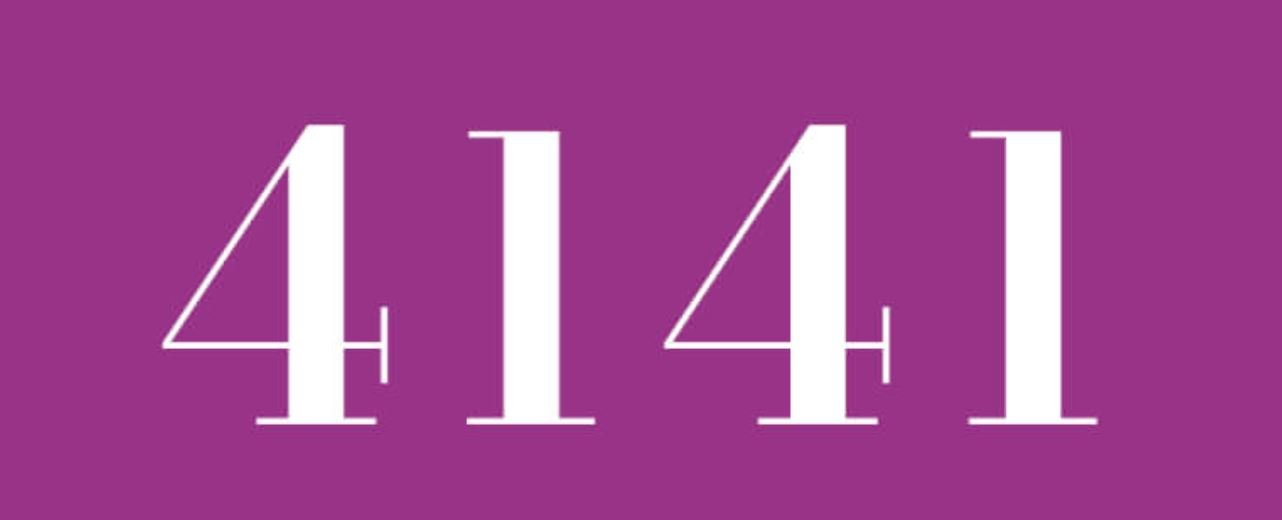 Numerologie 4141