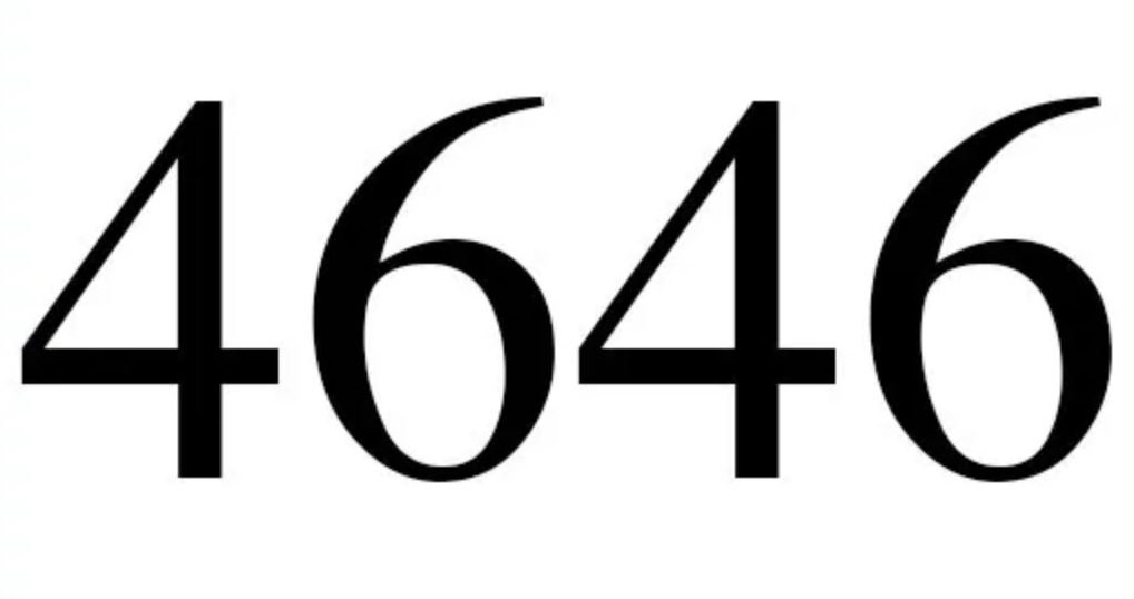 Numerologie 4646