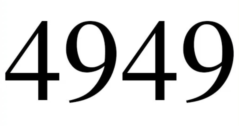 Numerologie 4949
