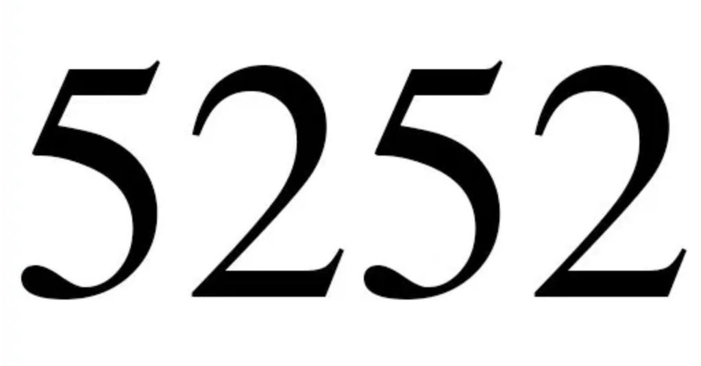 Numerologie 5252