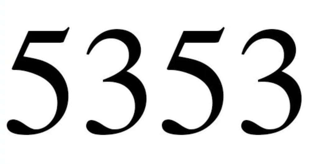 Numerologie 5353