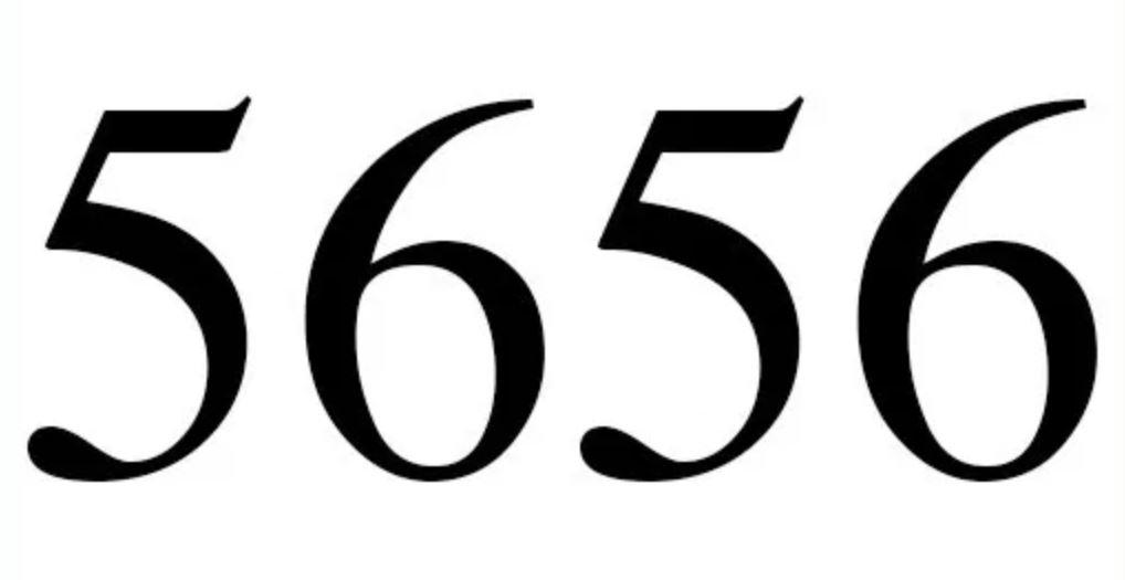 Numerologie 5656
