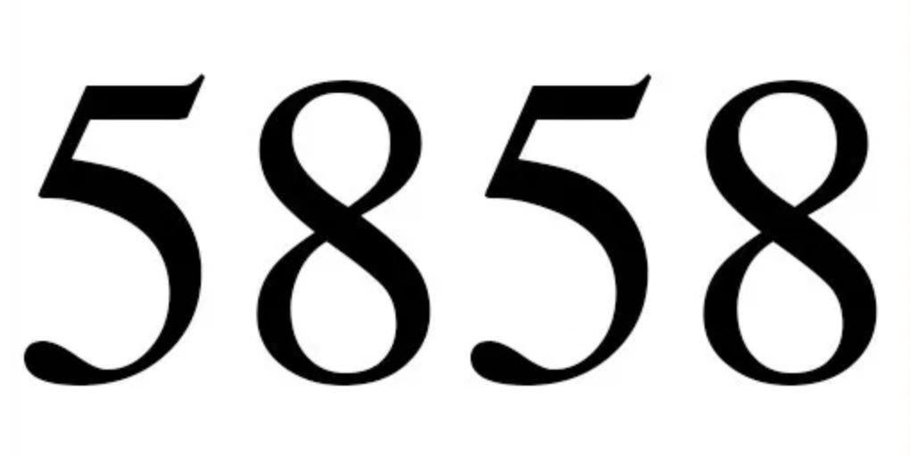 Numerologie 5858