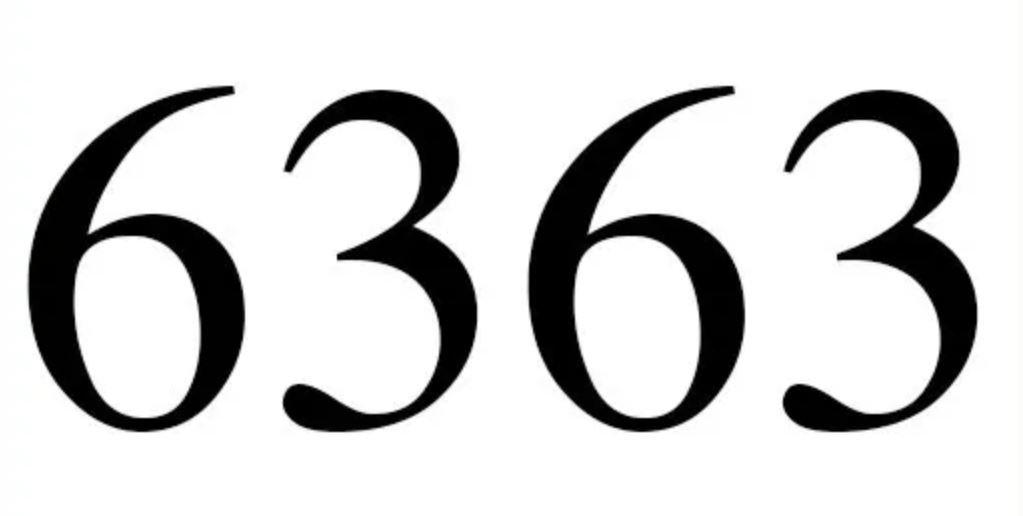 Numerologie 6363