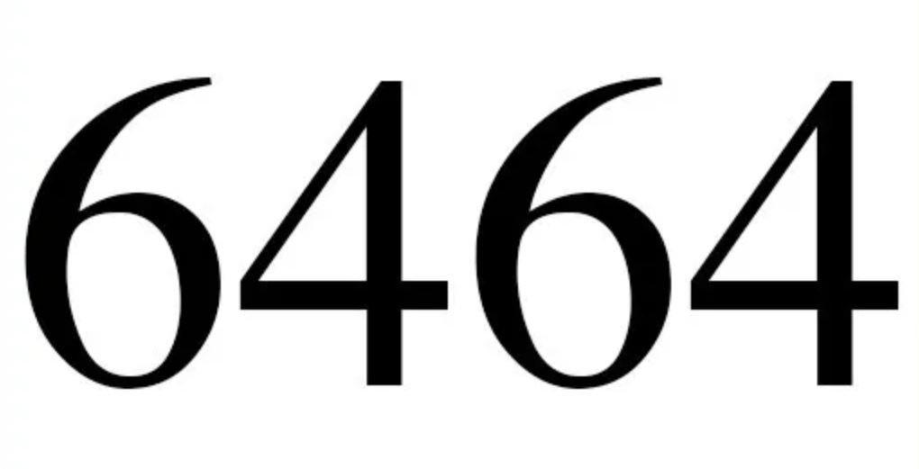 Numerologie 6464